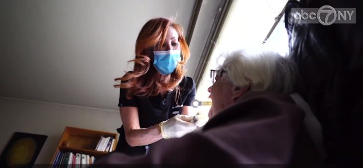 bedbound dentistry caregiver